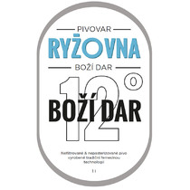 Etiketa 12°Boží Dar - 1l